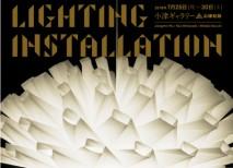 「アルゴリスミックな自然美」和紙照明によるインスタレーション